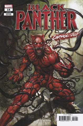 BLACK PANTHER #14 BROWN CARNAGE-IZED VARIANT