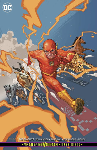 FLASH #77 CARD STOCK VARIANT