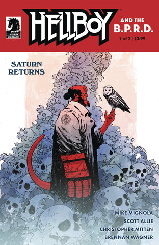 HELLBOY AND THE B.P.R.D. SATURN RETURNS #1