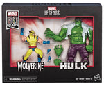 MARVEL LEGENDS 80TH ANNIVERSARY WOLVERINE VS HULK