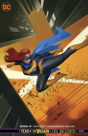 BATGIRL #39 CARD STOCK VARIANT