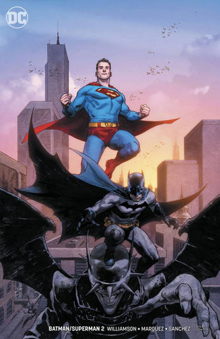 BATMAN/SUPERMAN #2 CARD STOCK VARIANT