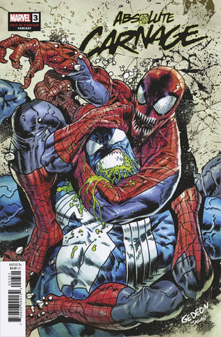 ABSOLUTE CARNAGE #3 1/25 GEDEON CULT OF CARNAGE VARIANT