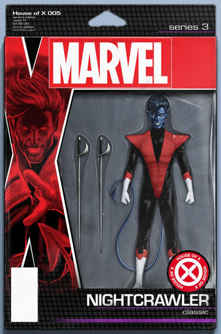 HOUSE OF X #5 CHRISTOPHER ACTION FIGURE VARIANT
