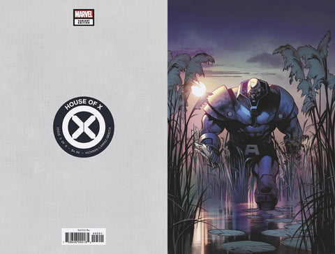 HOUSE OF X #5 1/100 LARRAZ VIRGIN VARIANT