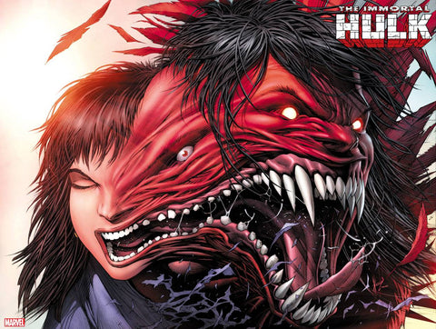 IMMORTAL HULK #23 KEOWN IMMORTAL WRAPAROUND VARIANT