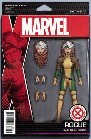 POWERS OF X #4 CHRISTOPHER ACTION FIGURE VARIANT