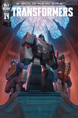 TRANSFORMERS #14 1/10 PITRE-DUROCHER VARIANT