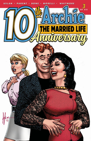 ARCHIE: THE MARRIED LIFE 10TH ANNIVERSARY #3 CHAYKIN VARIANT