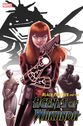 BLACK PANTHER AND AGENTS OF WAKANDA #2 LOPEZ MARY JANE VARIANT