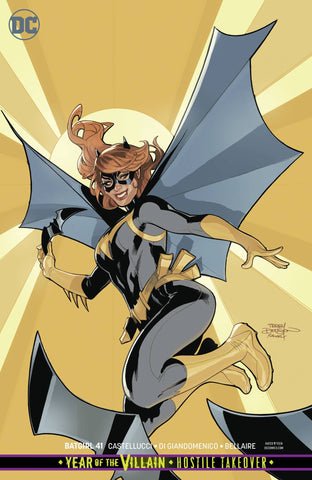 BATGIRL #41 CARD STOCK VARIANT