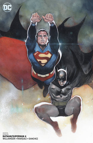 BATMAN/SUPERMAN #4 CARD STOCK VARIANT