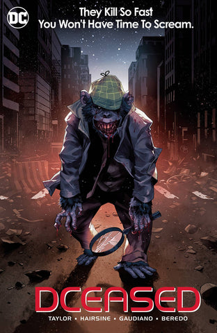 DCEASED #6 CARD STOCK HORROR VARIANT