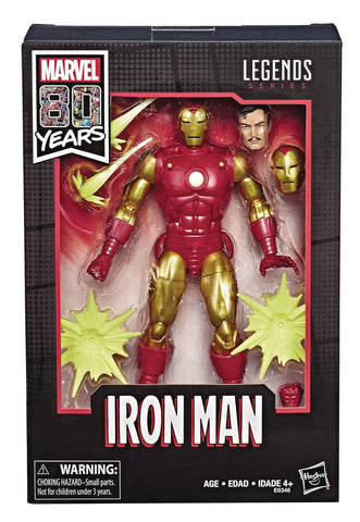 MARVEL LEGENDS 80TH ANNIVERSARY IRON MAN