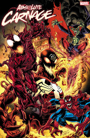 ABSOLUTE CARNAGE #5 1/25 BAGLEY CULT OF CARNAGE VARIANT
