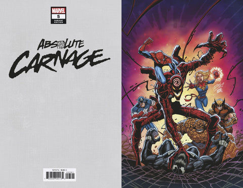 ABSOLUTE CARNAGE #5 LIM VIRGIN VARIANT