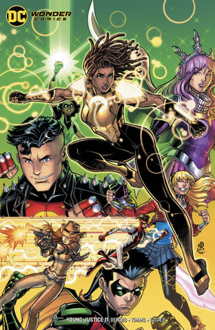 YOUNG JUSTICE #11 CARD STOCK VARIANT