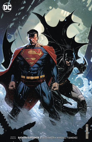BATMAN/SUPERMAN #5 CARD STOCK VARIANT