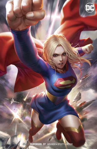 SUPERGIRL #37 CARD STOCK VARIANT