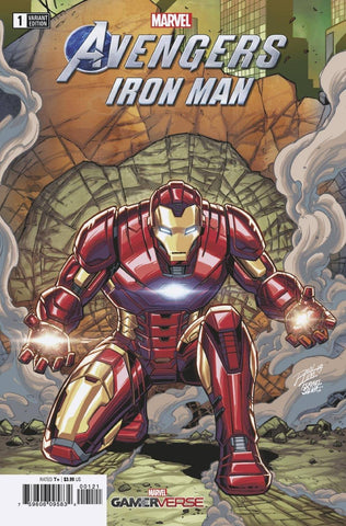 MARVELS AVENGERS IRON MAN #1 RON LIM VARIANT
