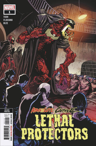 ABSOLUTE CARNAGE LETHAL PROTECTORS #1 2ND PTG VARIANT