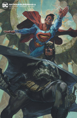BATMAN/SUPERMAN #6 CARD STOCK VARIANT