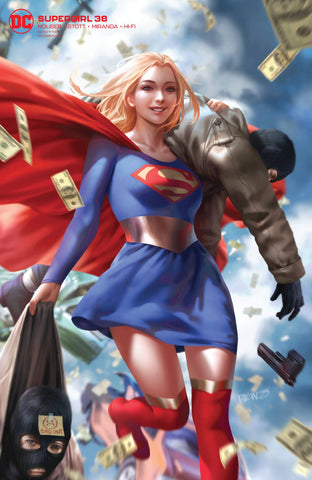 SUPERGIRL #38 CARD STOCK VARIANT