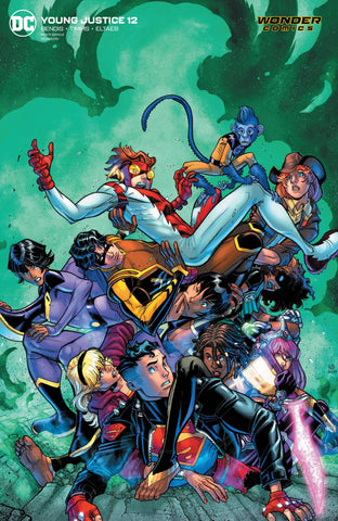 YOUNG JUSTICE #12 CARD STOCK VARIANT