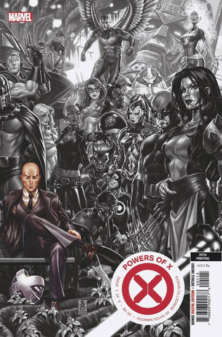POWERS OF X #1 5TH PTG BROOKS VARIANT