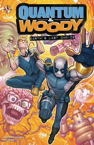 QUANTUM AND WOODY (2020) TPB EARTH'S LAST CHOICE
