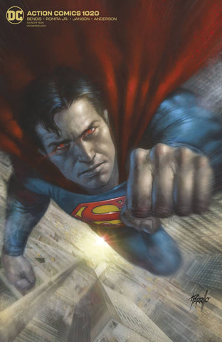 ACTION COMICS #1020 CARD STOCK VARIANT