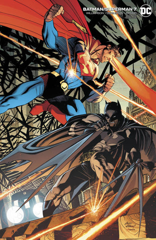 BATMAN/SUPERMAN #7 CARD STOCK VARIANT