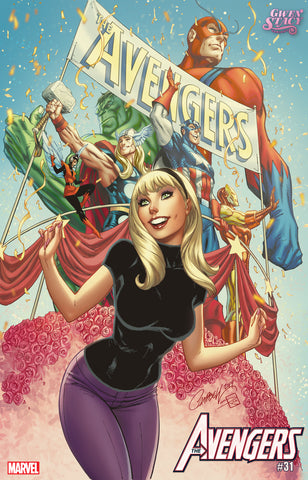 AVENGERS #31 J SCOTT CAMPBELL GWEN STACY VARIANT