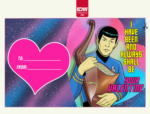 STAR TREK YEAR FIVE VALENTINE'S DAY 1/10 CHARM