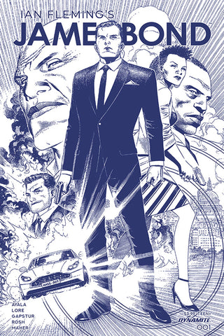 JAMES BOND #1 1/11 CHEUNG TINT DRESSED VARIANT