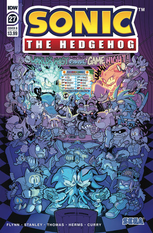 SONIC THE HEDGEHOG #27 VARIANT