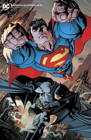 BATMAN/SUPERMAN #8 CARD STOCK VARIANT