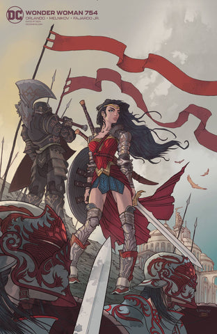 WONDER WOMAN #754 CARD STOCK VARIANT
