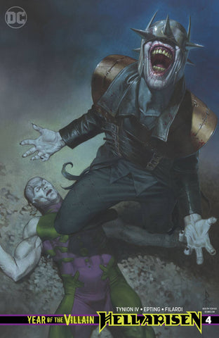 YEAR OF THE VILLAIN HELL ARISEN #4 VARIANT