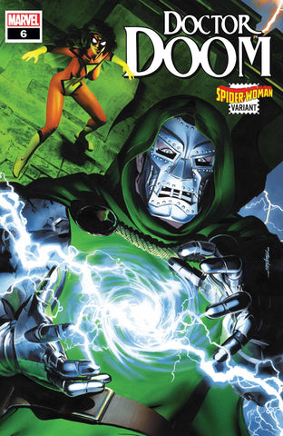 DOCTOR DOOM #6 MAYHEW SPIDER-WOMAN VARIANT