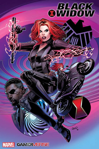 MARVELS AVENGERS BLACK WIDOW #1 LAND VARIANT