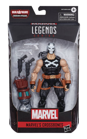 MARVEL LEGENDS BLACK WIDOW CROSSBONES