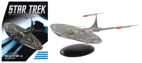 STAR TREK #19 U.S.S. ENTERPRISE NCC-1701-J SHIP