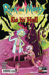 RICK AND MORTY GO TO HELL #1 GOUX VARIANT