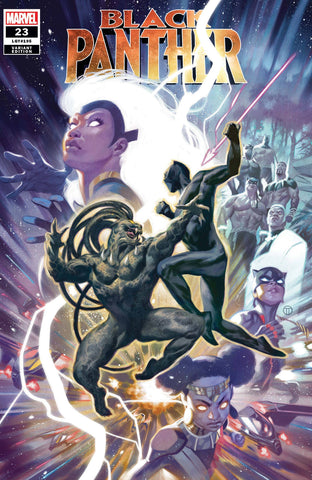 BLACK PANTHER #23 TEDESCO VARIANT
