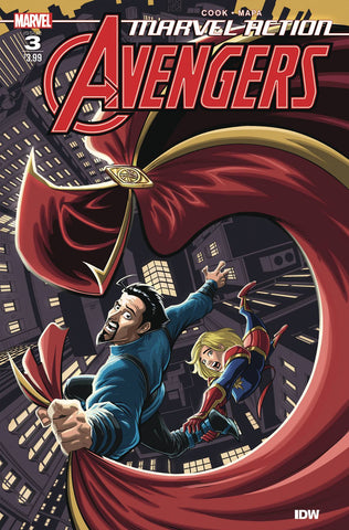 MARVEL ACTION AVENGERS (2020) #3