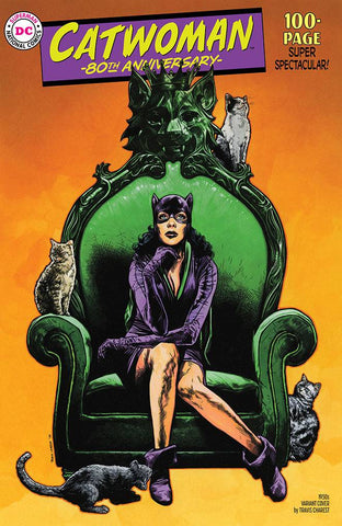CATWOMAN 80TH ANNIVERSARY SPECTACULAR #1 TRAVIS CHAREST 1950S VARIANT