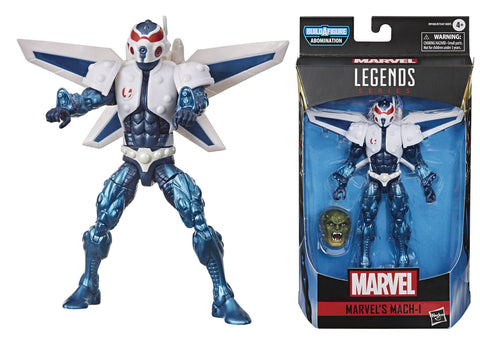 MARVEL LEGENDS AVENGERS VIDEO GAME MACH-1