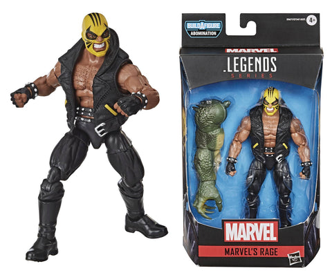 MARVEL LEGENDS AVENGERS VIDEO GAME RAGE