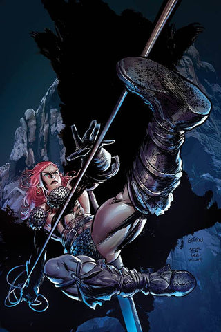 RED SONJA #16 1/15 GEDEON HOMAGE VIRGIN VARIANT